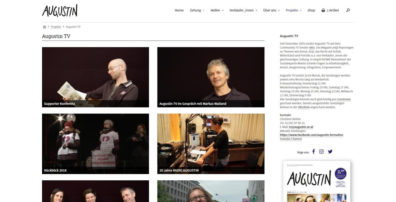 Augustin - augustinTV