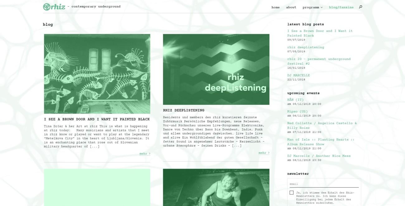 Rhiz - Blog